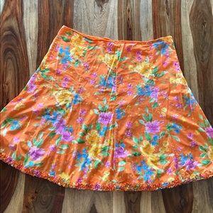 Jones New York spring floral skirt - 18W